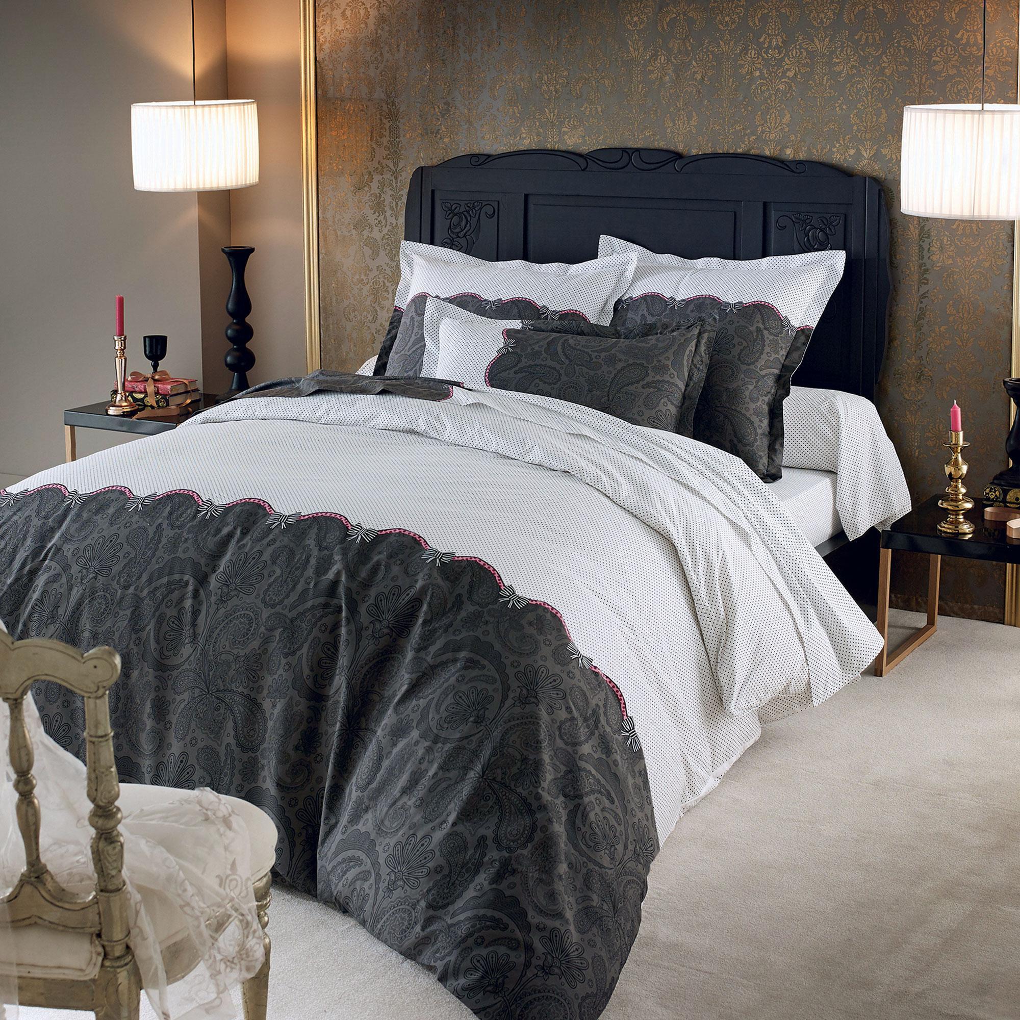 housse de couette 200x200 cm percale pur coton sensuel eur 64 47 picclick fr. Black Bedroom Furniture Sets. Home Design Ideas