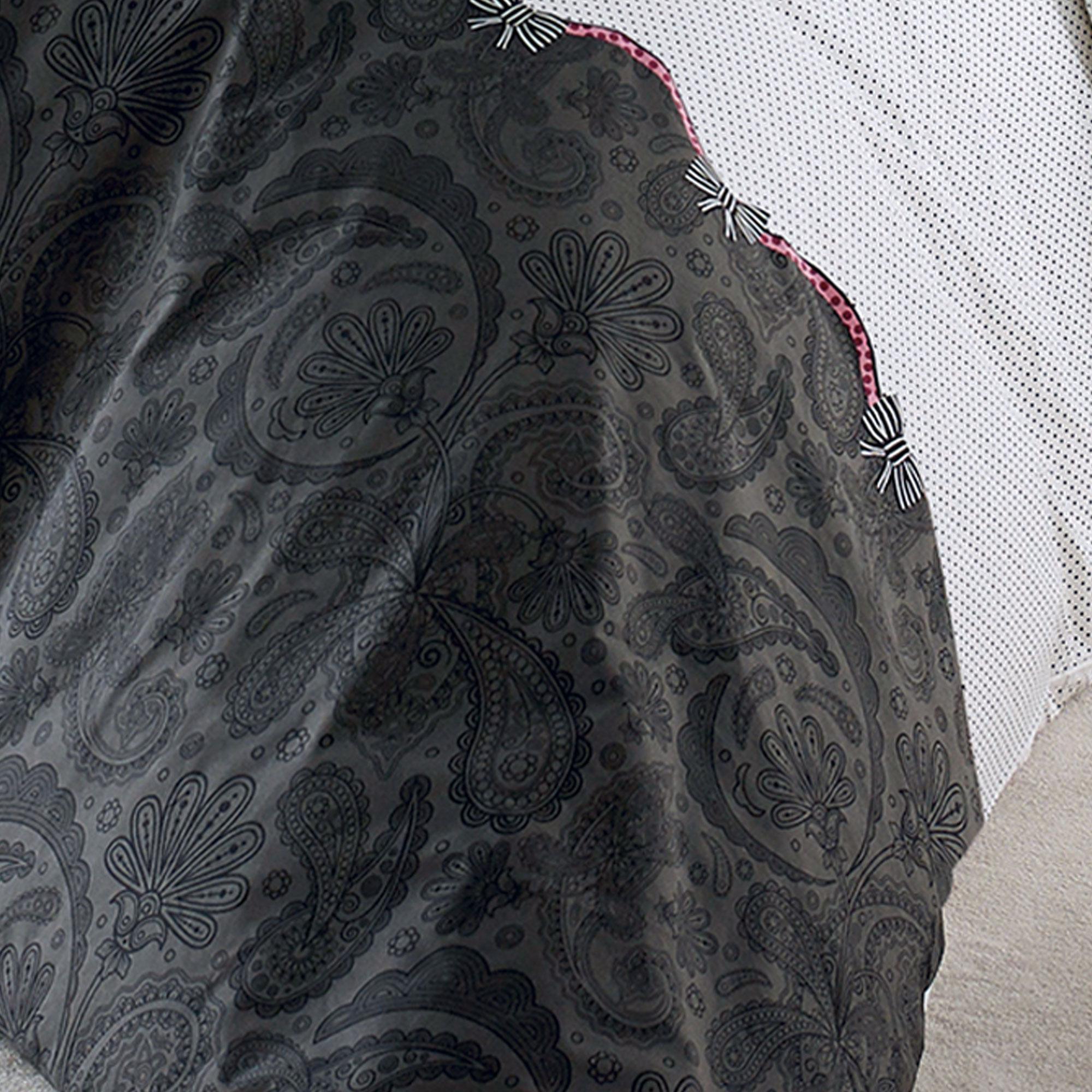 housse de couette 300x240 cm percale pur coton sensuel ebay. Black Bedroom Furniture Sets. Home Design Ideas