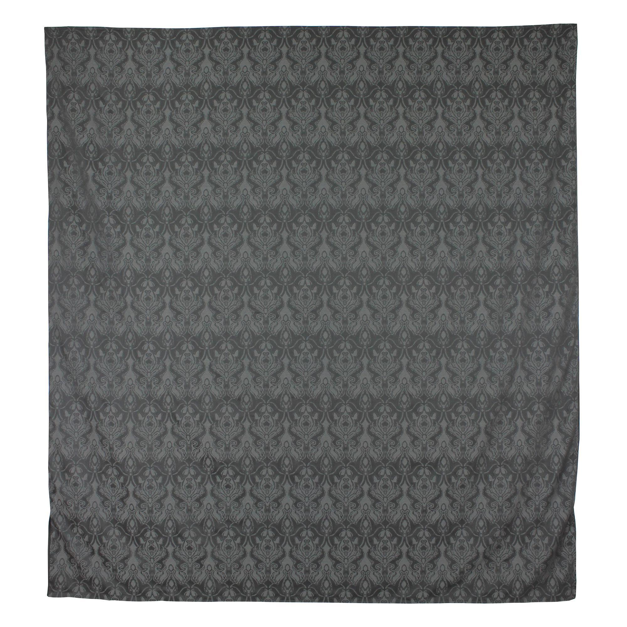 Housse de couette 280x240 satin de coton vosges gris fonc ebay - Housse de couette coton egyptien ...