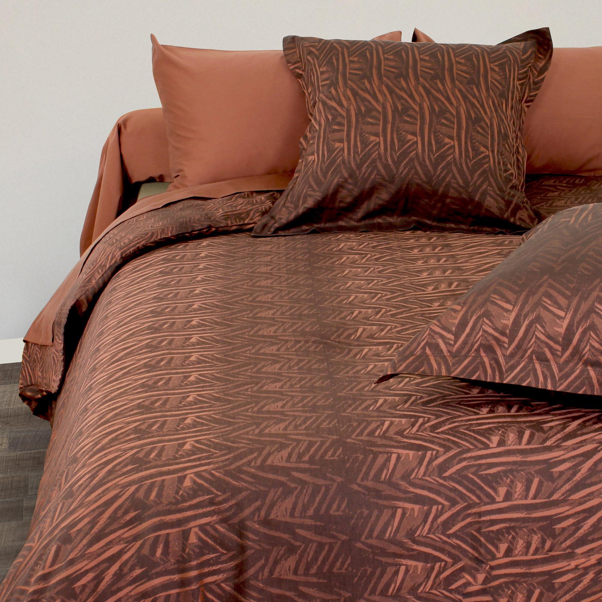 housse de couette satin de coton tiss teint 300x240 cm opera linnea linge de maison et. Black Bedroom Furniture Sets. Home Design Ideas