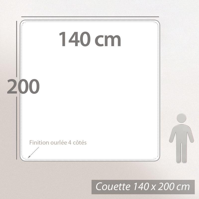 couette 140x200 cm elsa t fibre creuse polyester 200 g m2 linnea linge de maison et. Black Bedroom Furniture Sets. Home Design Ideas