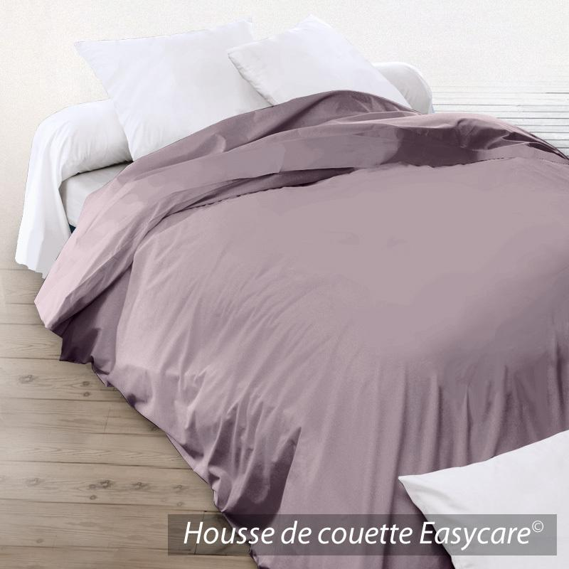housse de couette 200x200cm uni pur coton alto violet violine linnea vente de linge de maison. Black Bedroom Furniture Sets. Home Design Ideas