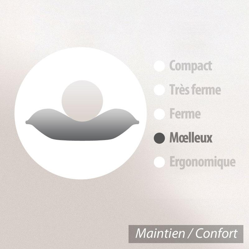 Oreiller-50x50-GRIZZ-039-LIT-PLUMES-100-Plumes-de-Canard