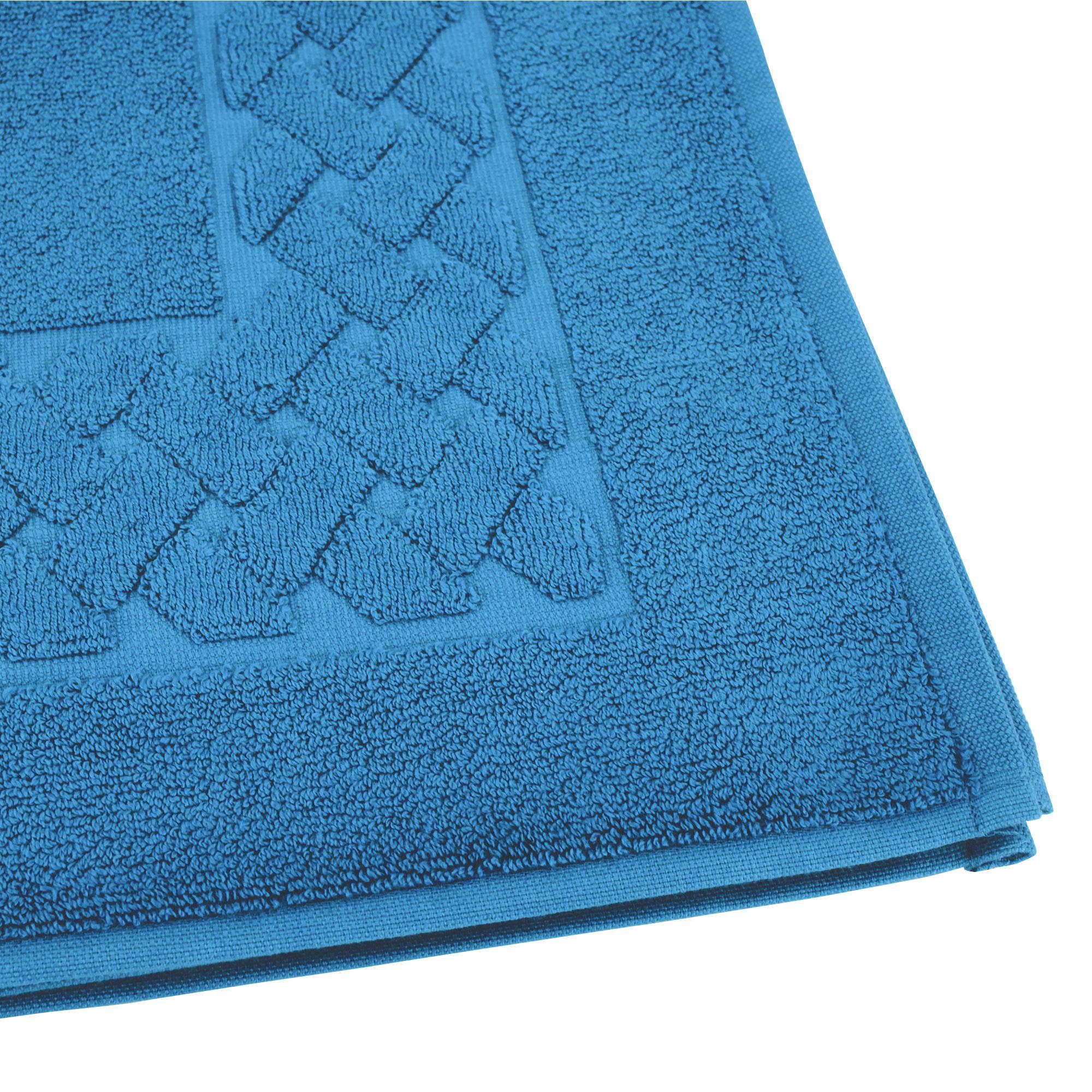 parure de bain 7 pi ces royal cresent bleu c leste 650g m2 ebay. Black Bedroom Furniture Sets. Home Design Ideas