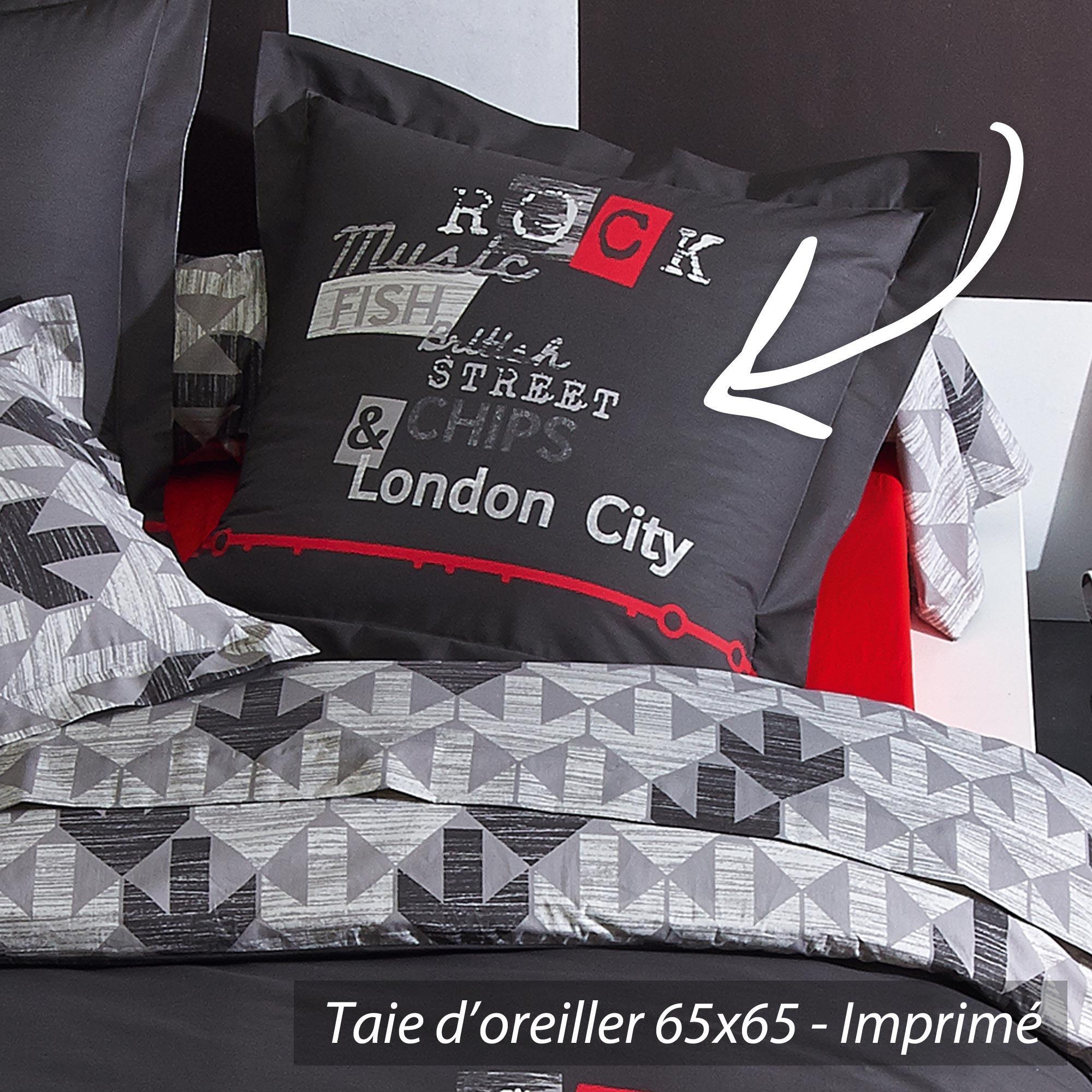 parure de lit 200x200 parure de lit lapins cr tins 2 pers. Black Bedroom Furniture Sets. Home Design Ideas