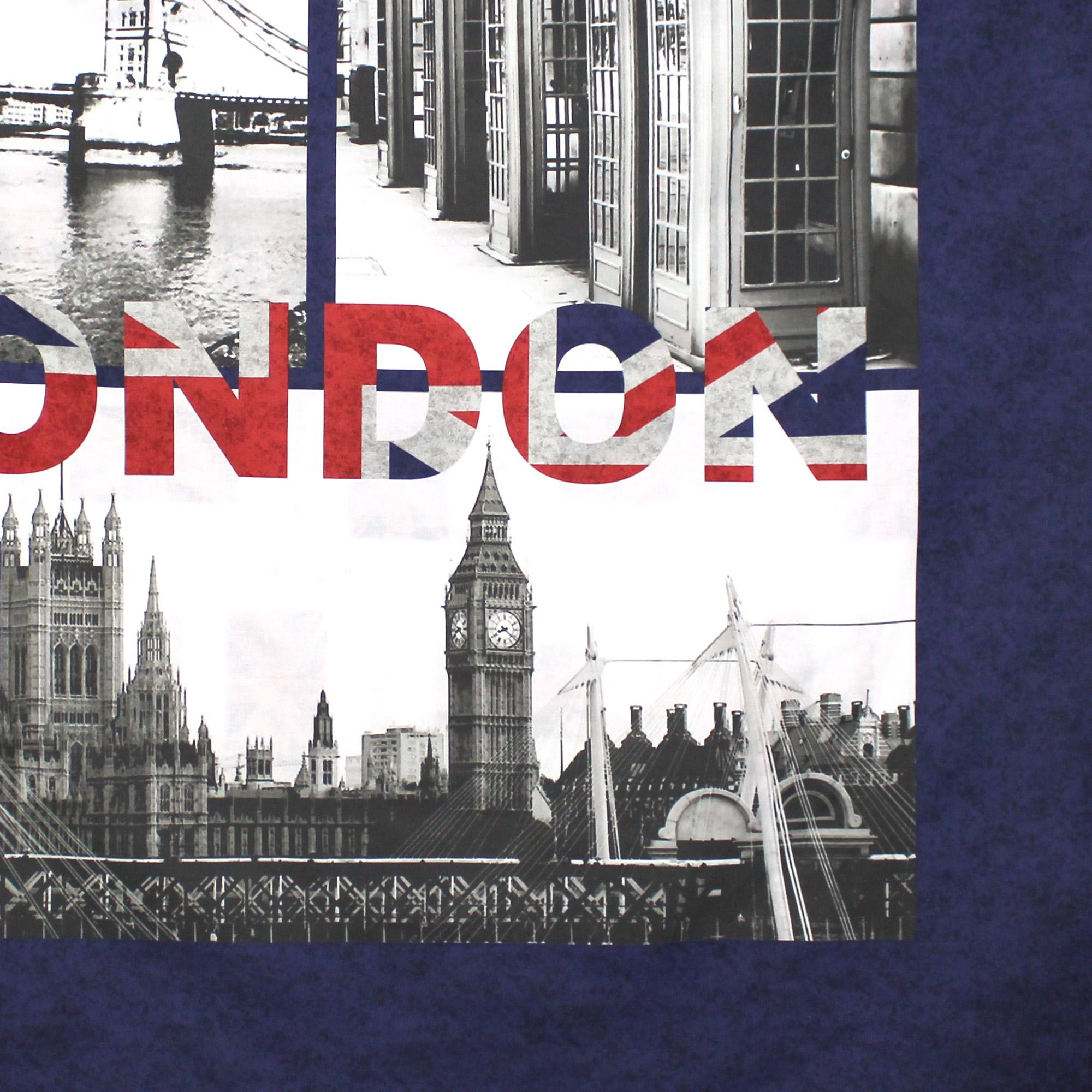 parure de lit 260x240 cm 100 coton jack london city 3. Black Bedroom Furniture Sets. Home Design Ideas