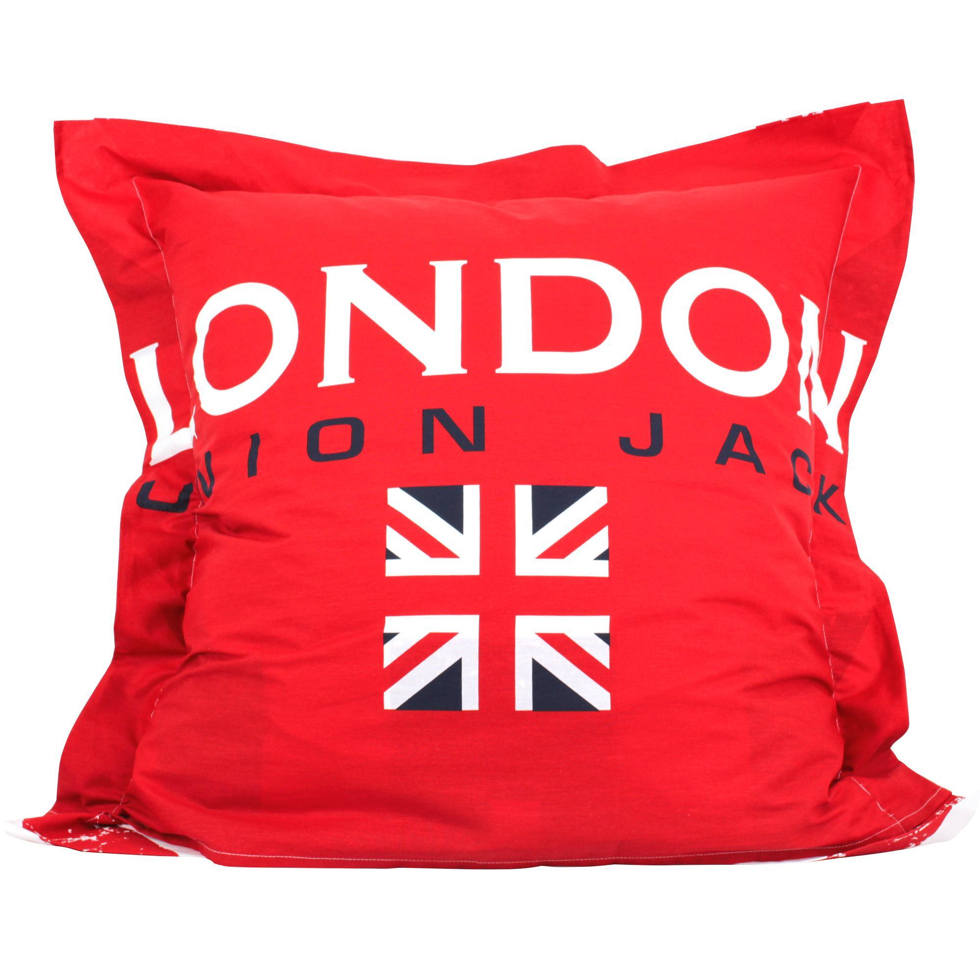Parure de lit 260x240 cm 100 coton london union jack ebay - Housse de couette union jack ...