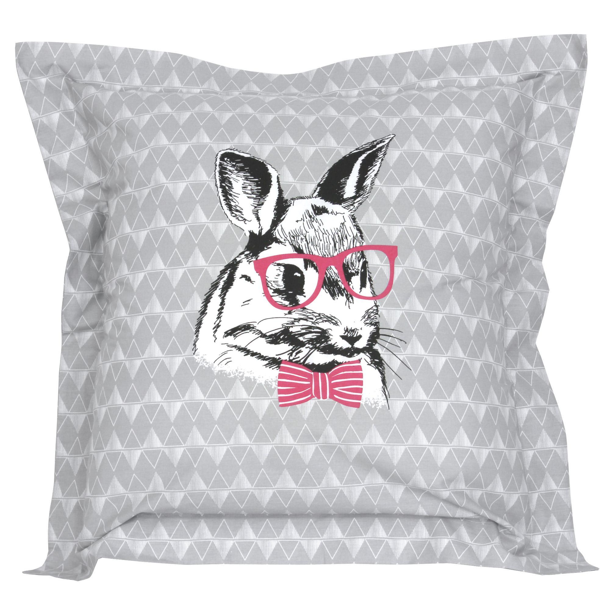 parure de lit 140x200 100 coton bunny 2 pi ces ebay. Black Bedroom Furniture Sets. Home Design Ideas