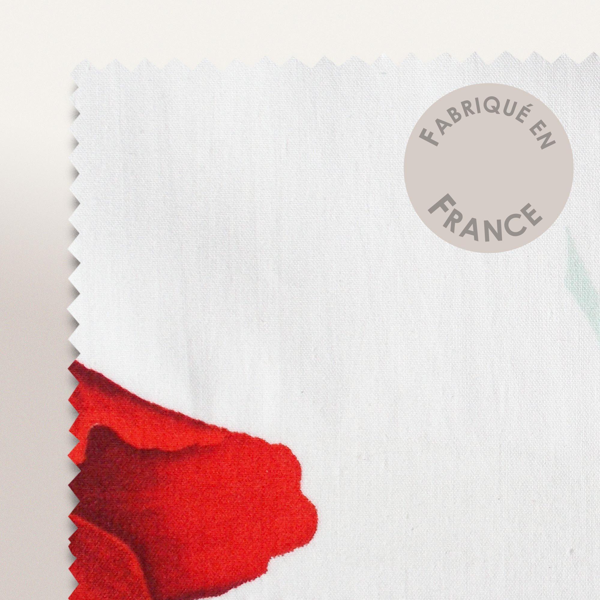 Parure De Lit Percale Pur Coton Peigne 140x200 Cm Seduction Linnea
