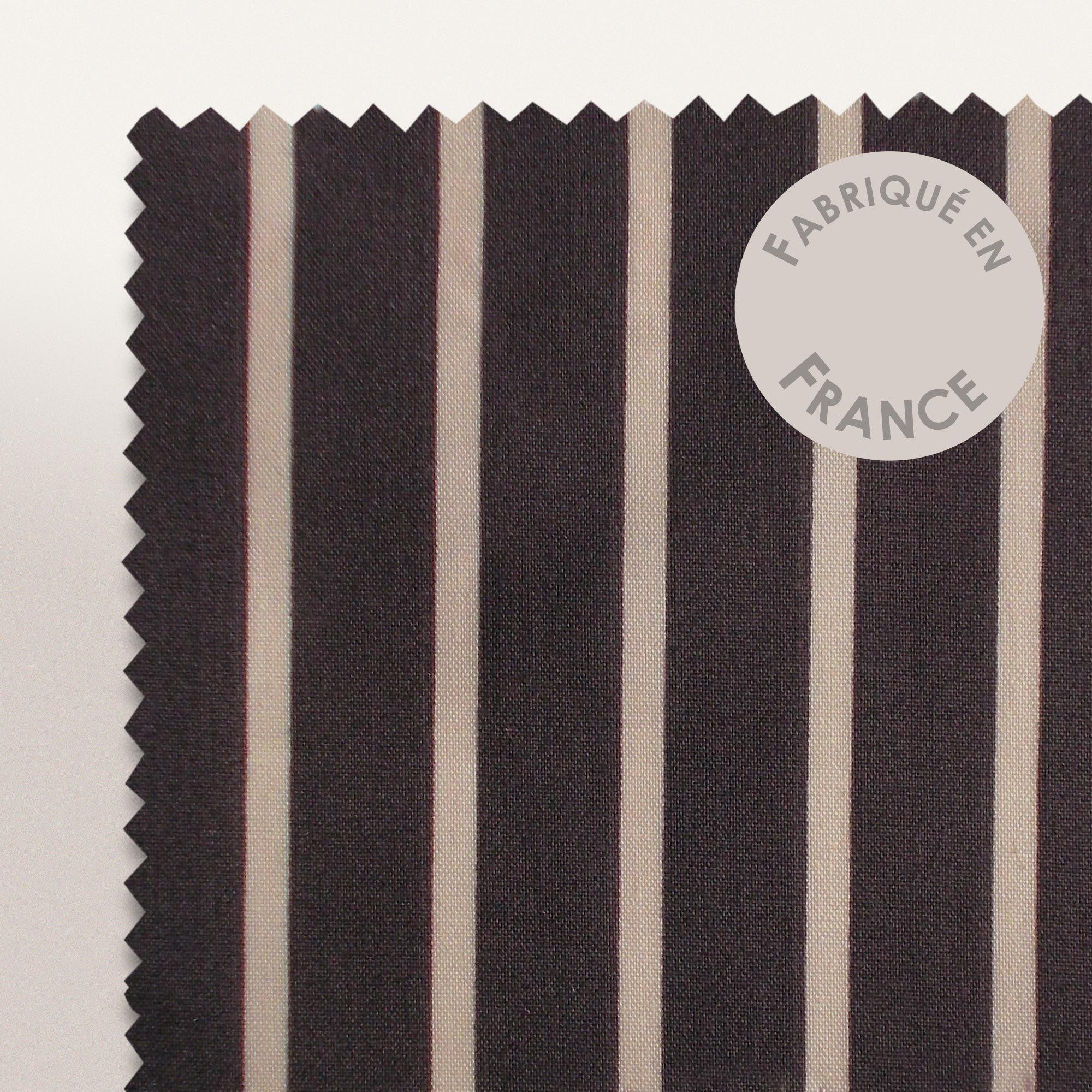 parure de lit 140x200 percale pur coton stripe camelia eur 62 05 picclick fr. Black Bedroom Furniture Sets. Home Design Ideas