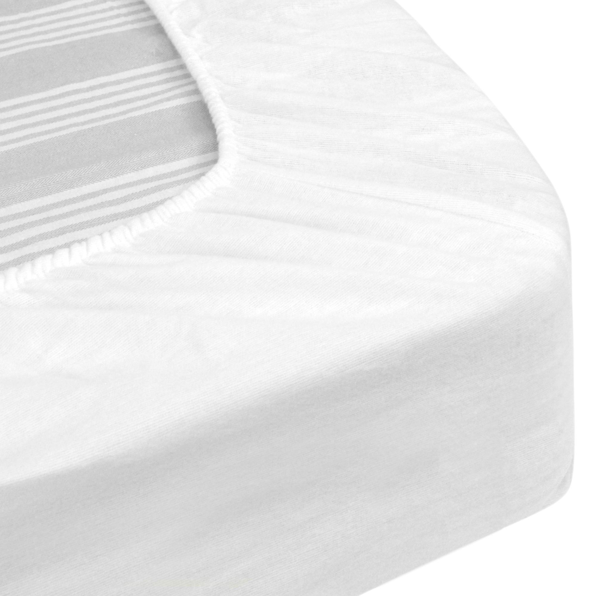prot ge matelas imperm able 140x190 cm bonnet 30cm arnon molleton 100 coton contrecoll. Black Bedroom Furniture Sets. Home Design Ideas
