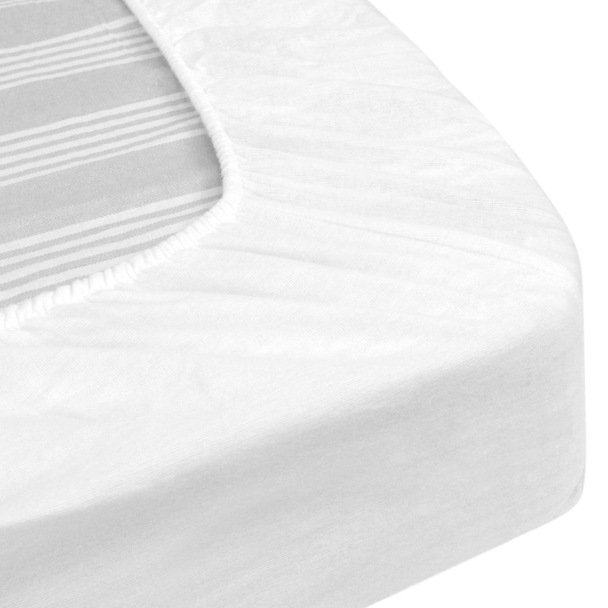 Protege Matelas Impermeable 140x200 Cm Bonnet 23cm Arnon Molleton