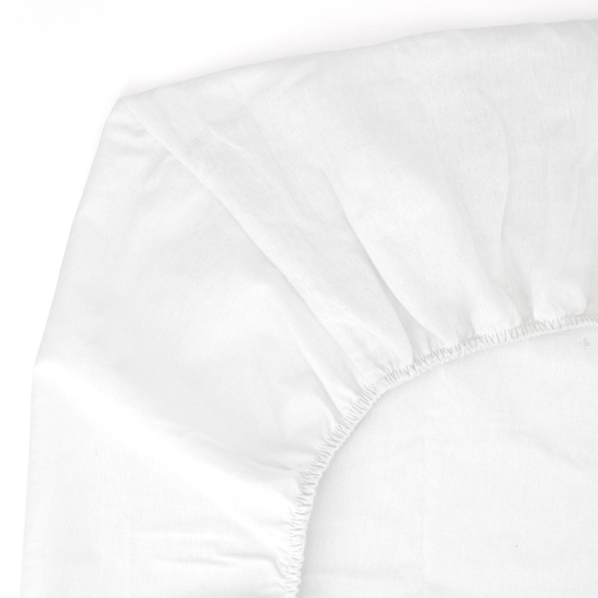 prot ge matelas imperm able 80x220 cm bonnet 30cm arnon molleton 100 coton contrecoll. Black Bedroom Furniture Sets. Home Design Ideas