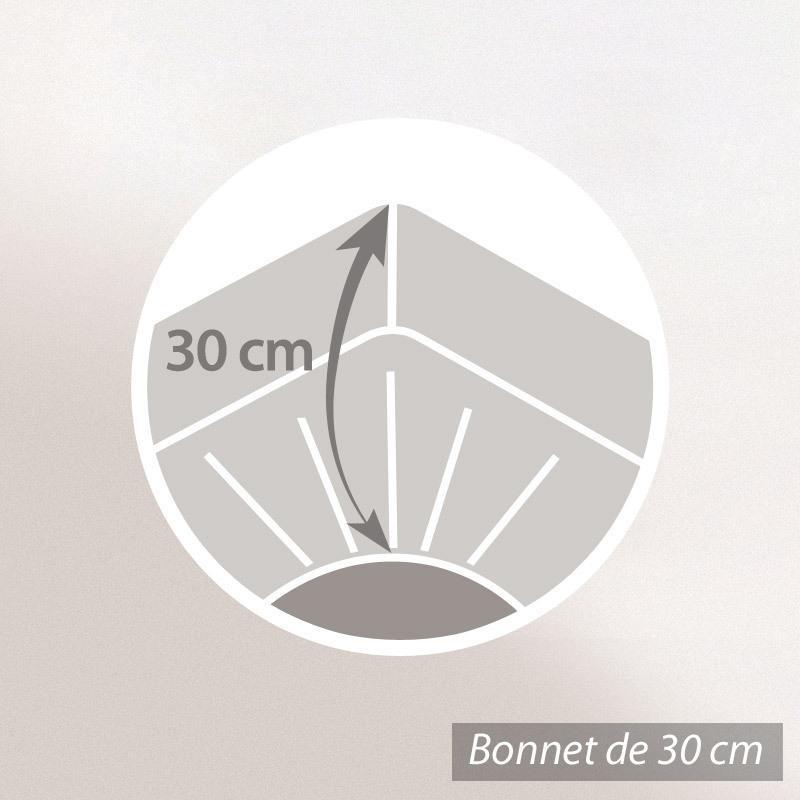 prot ge matelas imperm able antony blanc 120x190. Black Bedroom Furniture Sets. Home Design Ideas