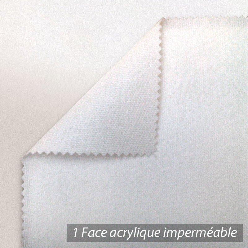 Protege Matelas Impermeable Antony Blanc 40x80 Linnea Linge