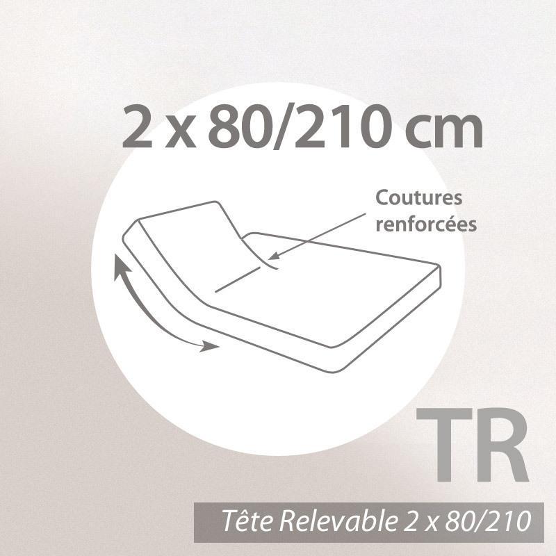 prot ge matelas imperm able 2x80x210 arnaud sp cial lit. Black Bedroom Furniture Sets. Home Design Ideas