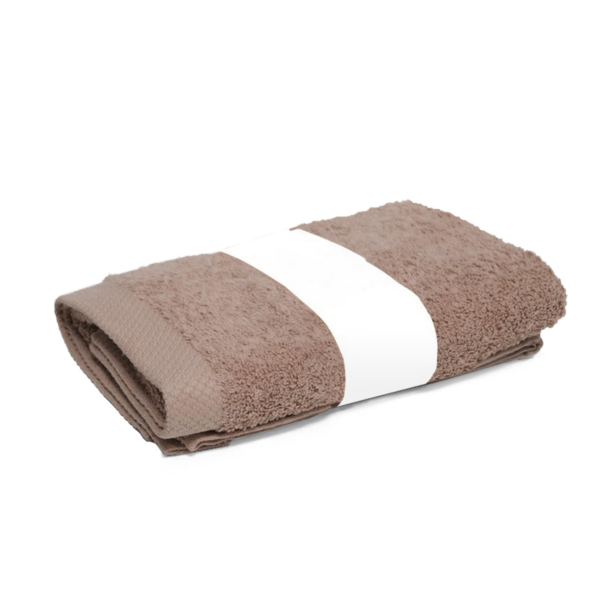 serviette de toilette 50x100 pure taupe 550g m2 eur 6 96 picclick fr. Black Bedroom Furniture Sets. Home Design Ideas
