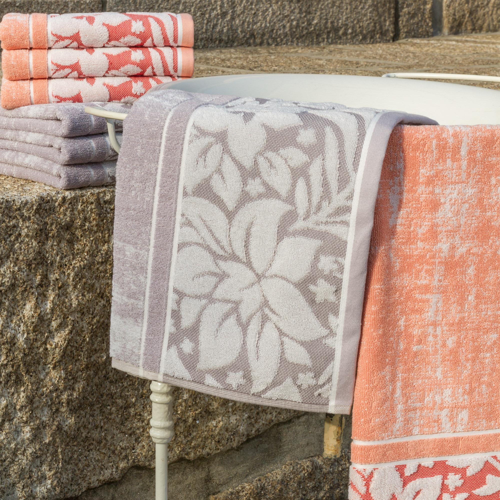 serviette de toilette 50x100 100 coton 500g m2 tosca classique orange ebay. Black Bedroom Furniture Sets. Home Design Ideas