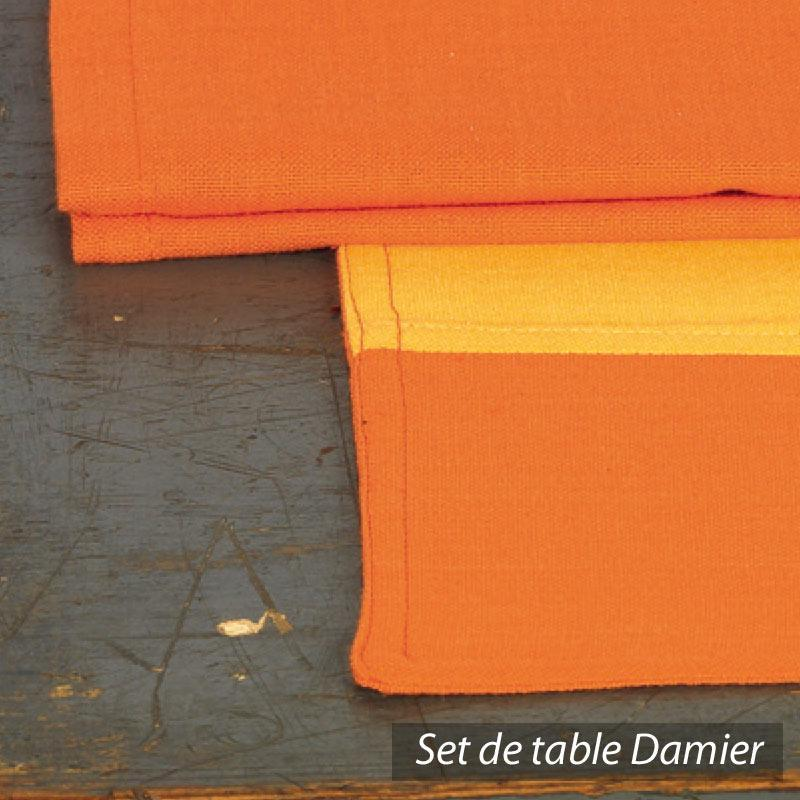 Set de table cocina 45x33 cm avec serviette assortie for Un set de table