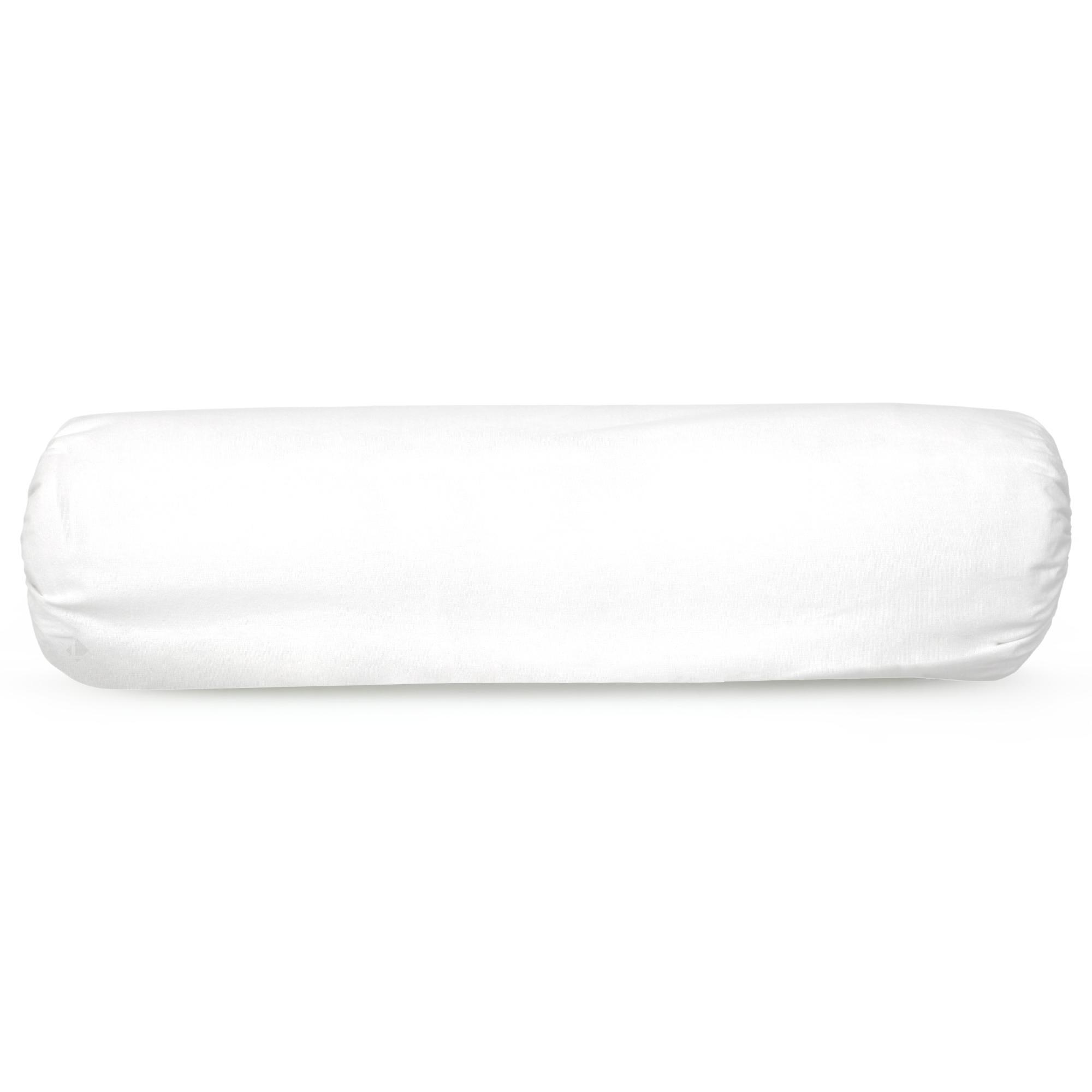 housse de protection de traversin imperm able 90 cm arnon molleton 100 coton contrecoll. Black Bedroom Furniture Sets. Home Design Ideas