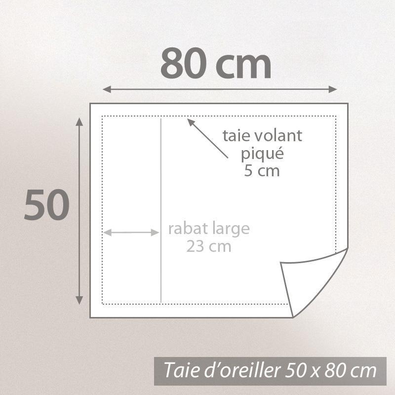 Taie-d-039-oreiller-uni-80x50-100-coton-ALTO-Chamois