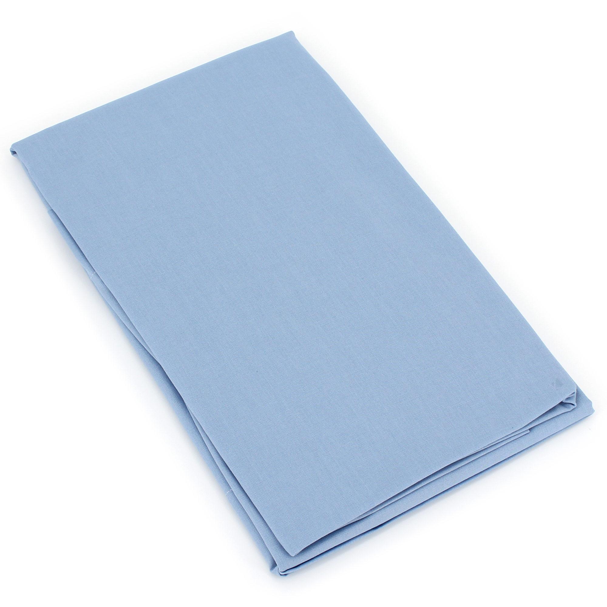 taie de traversin 140x43cm uni pur coton alto bleu belle ile linnea linge de maison et. Black Bedroom Furniture Sets. Home Design Ideas
