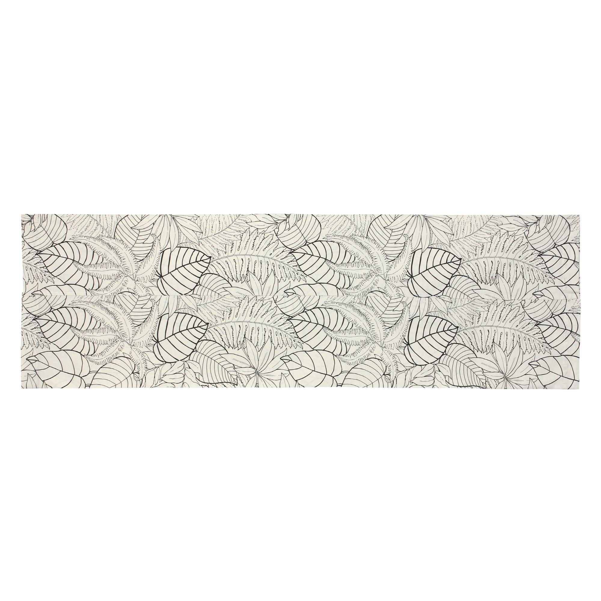 taie de traversin 140x43 cm 100 coton natura ecru linnea linge de maison et. Black Bedroom Furniture Sets. Home Design Ideas