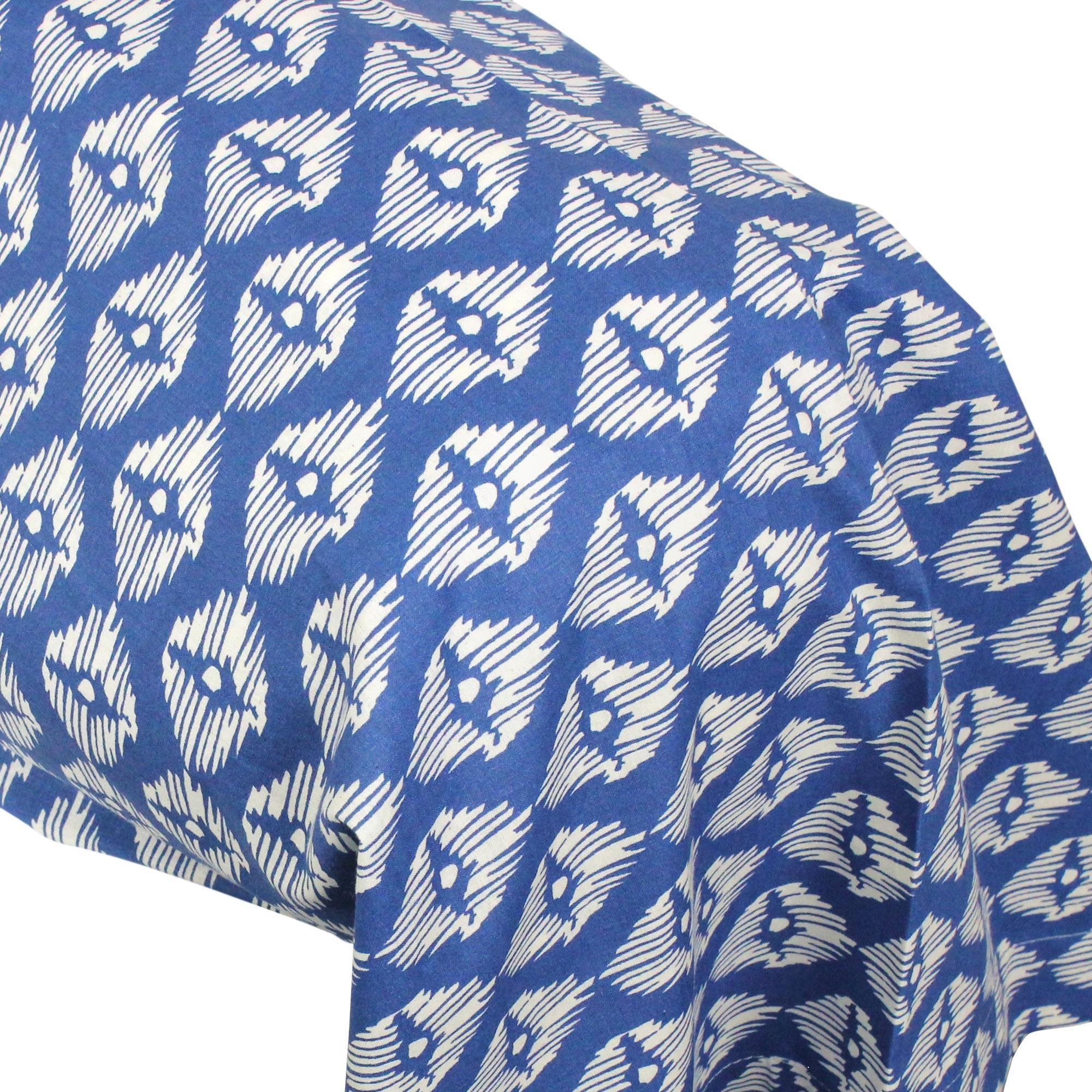 taie de traversin 140x43 cm 100 coton rio jade bleu linnea linge de maison et. Black Bedroom Furniture Sets. Home Design Ideas