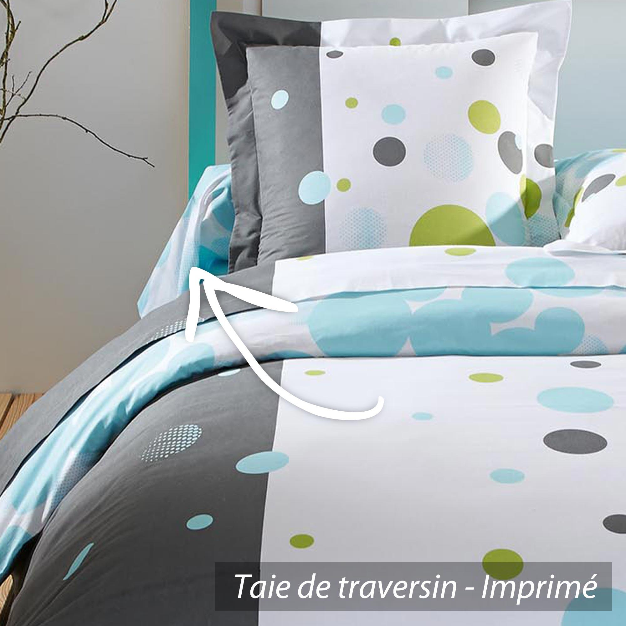 taie de traversin 240x43 cm mood jupiter linnea vente de linge de maison. Black Bedroom Furniture Sets. Home Design Ideas