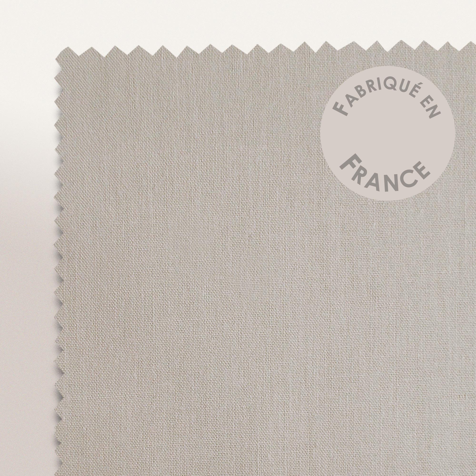 taie d 39 oreiller percale uni pur coton peign 40x40 cm hotel de paris lin linnea linge de. Black Bedroom Furniture Sets. Home Design Ideas