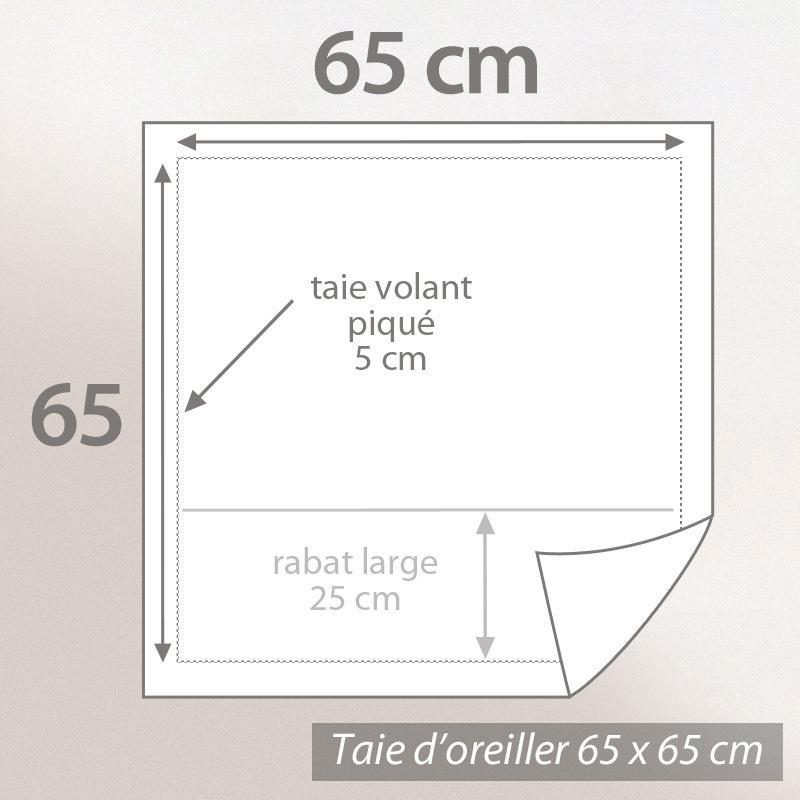 taie d 39 oreiller 65x65 percale pur coton sensuel d stockage eur 14 97 picclick fr. Black Bedroom Furniture Sets. Home Design Ideas