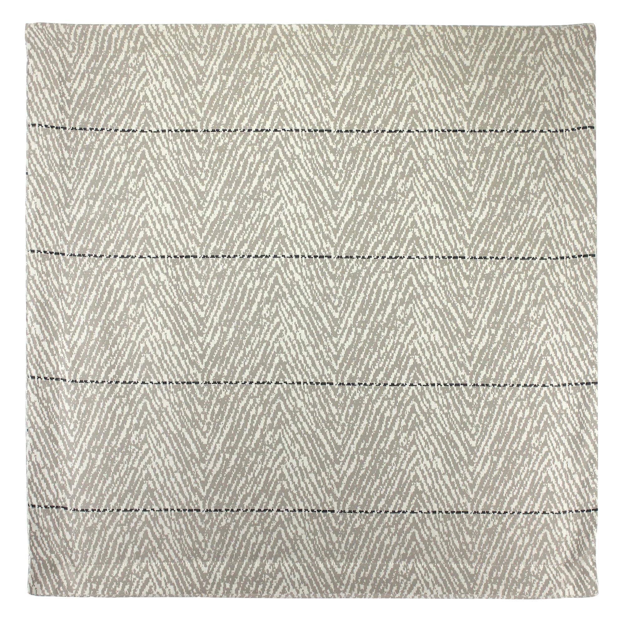 taie d 39 oreiller satin de coton tiss teint 65x65 cm odeon linnea linge de maison et. Black Bedroom Furniture Sets. Home Design Ideas