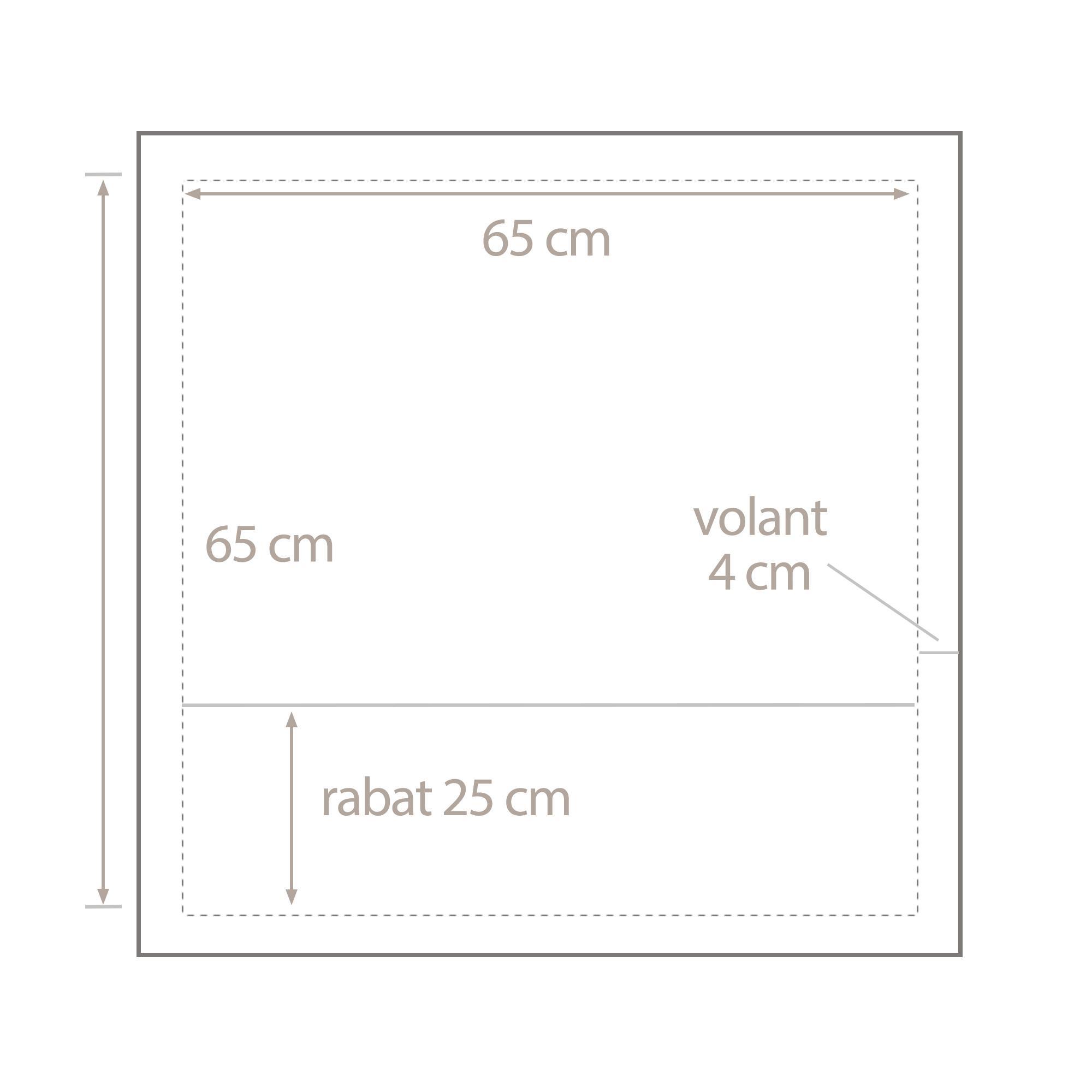 taie d 39 oreiller satin de coton tiss teint 65x65 cm pigalle linnea linge de maison et. Black Bedroom Furniture Sets. Home Design Ideas