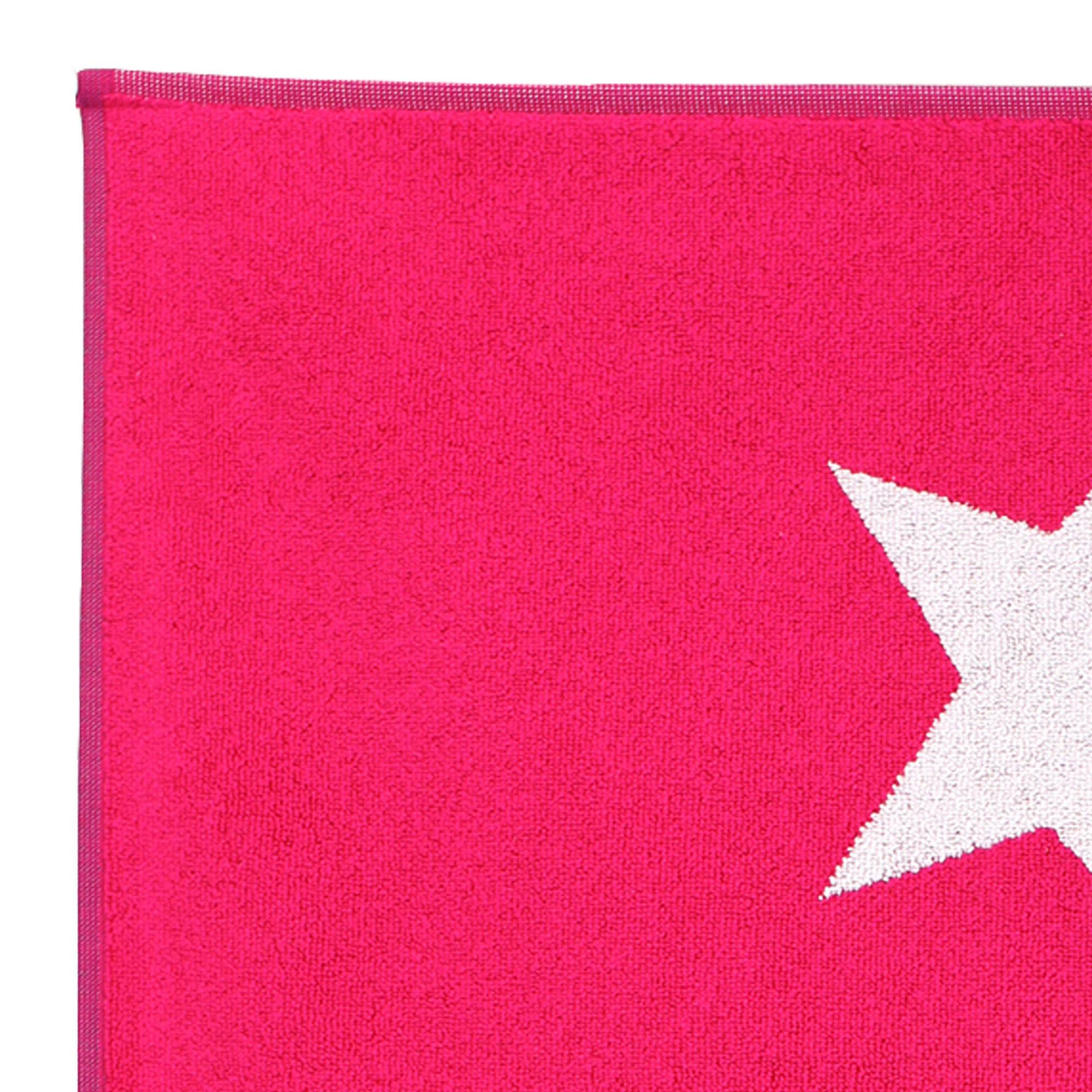 tapis de bain 50x70 100 coton 700g m2 stars rose ebay. Black Bedroom Furniture Sets. Home Design Ideas