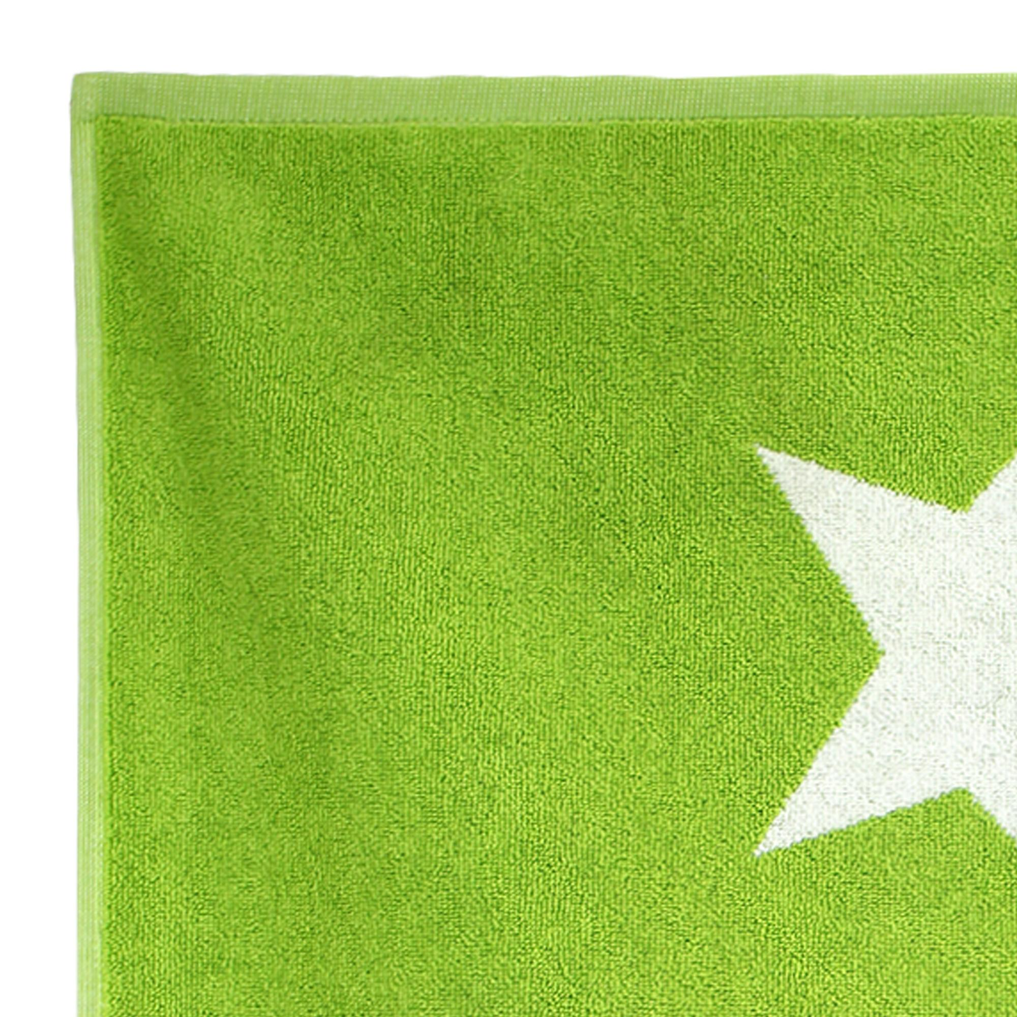Tapis de bain 50x70 cm coton stars vert linnea vente de for Prix espace vert m2