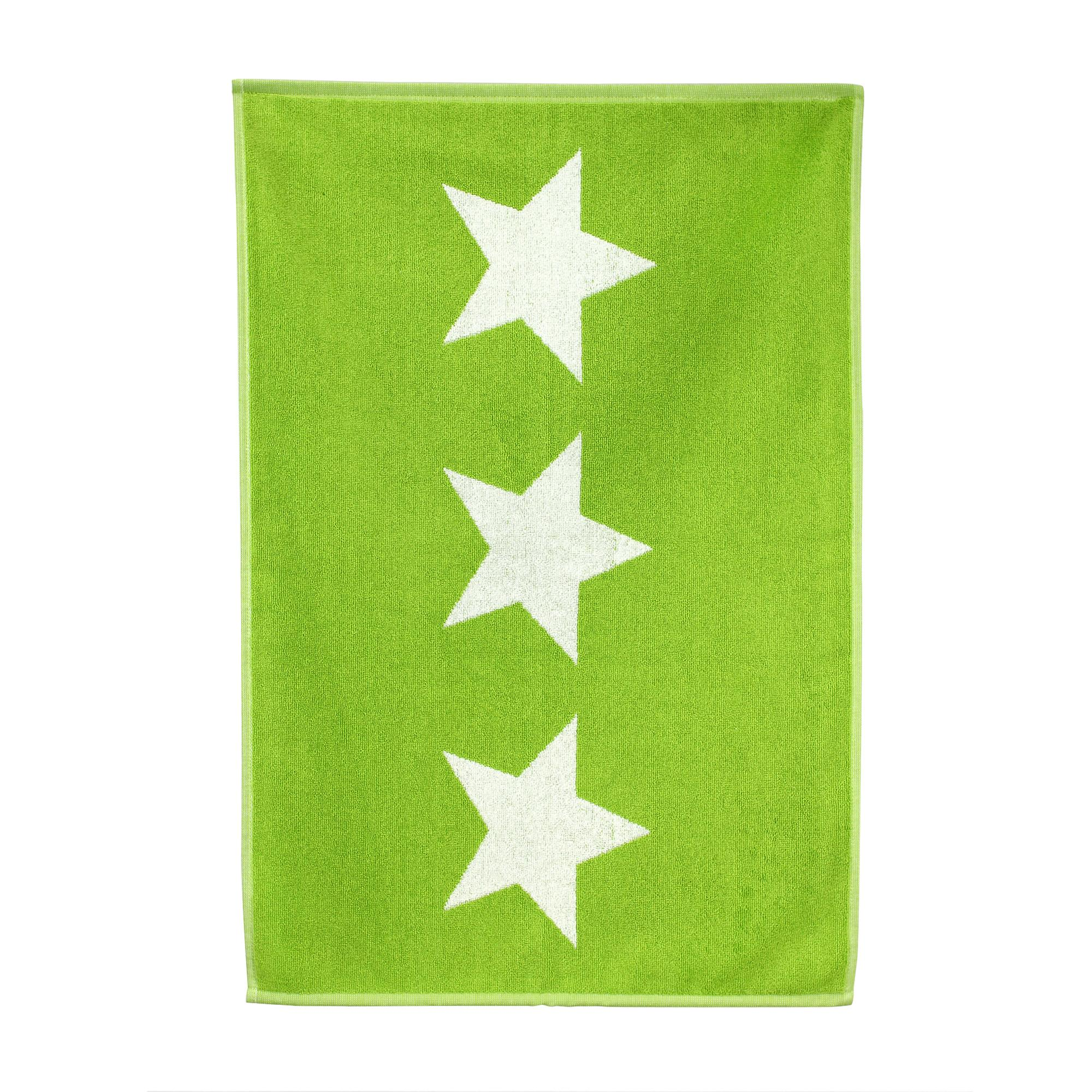 tapis de bain 50x70 cm 100 coton 700 g m2 stars vert ebay. Black Bedroom Furniture Sets. Home Design Ideas