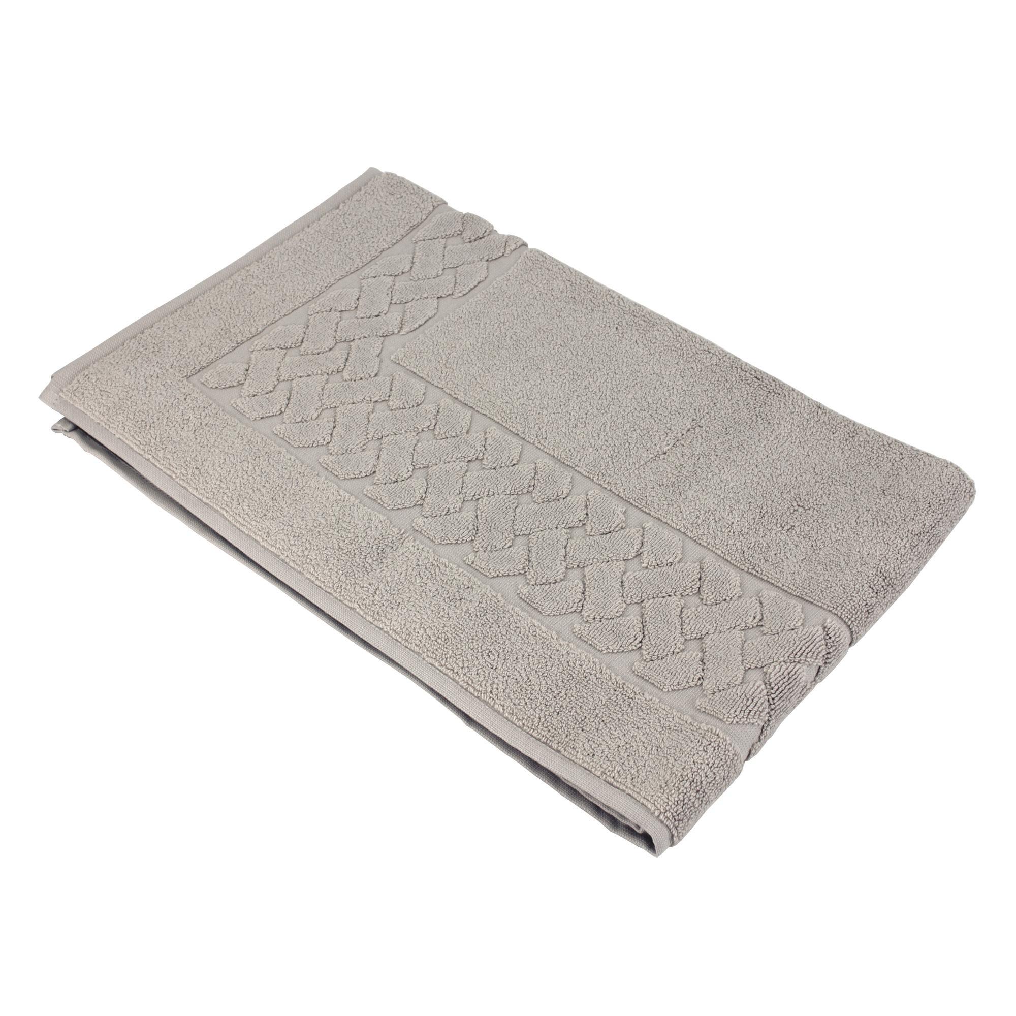 tapis de bain 50x80 royal cresent gris souris 850g m2 ebay. Black Bedroom Furniture Sets. Home Design Ideas