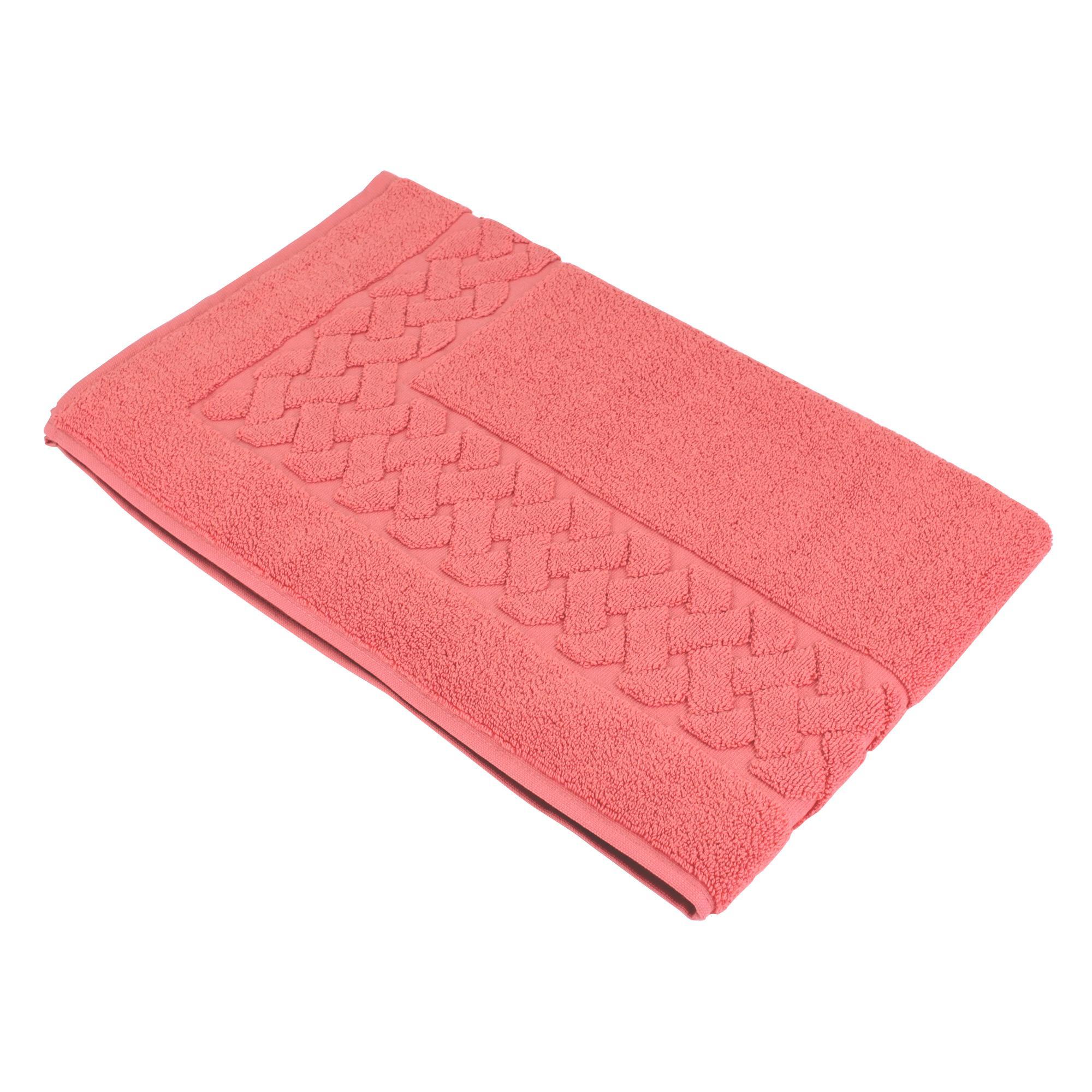 tapis de bain 50x80 cm royal cresent rouge terre cuite 850 g m2. Black Bedroom Furniture Sets. Home Design Ideas