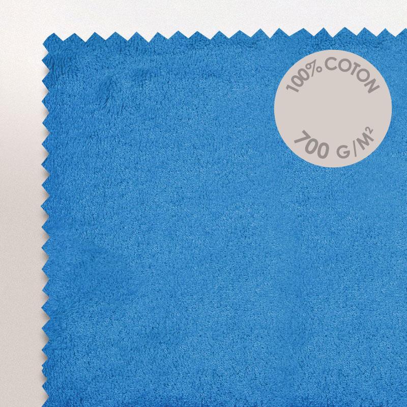 tapis de bain 50x70cm coton uni pure bleu turquoise. Black Bedroom Furniture Sets. Home Design Ideas