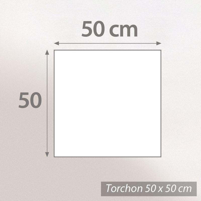 torchon de cuisine ponge 50x50 cm cakes jaune linnea linge de maison et. Black Bedroom Furniture Sets. Home Design Ideas