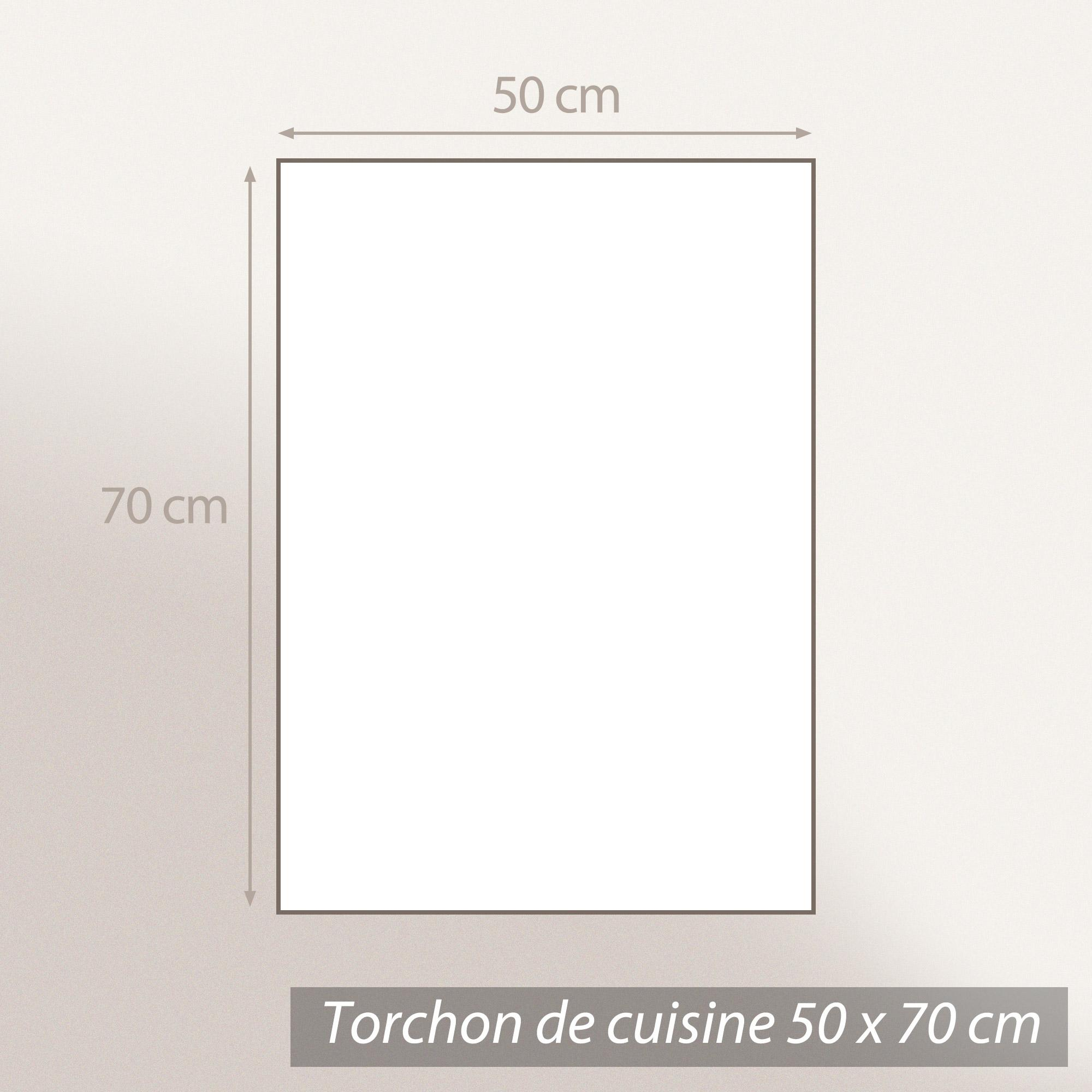 torchon de cuisine toile 50x70 cm line bleu linnea vente. Black Bedroom Furniture Sets. Home Design Ideas