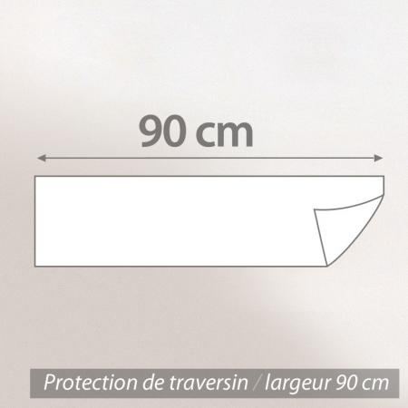 Housse de Protection de traversin imperméable Antony - Blanc - ( 90 cm )