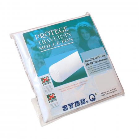 Housse de Protection de traversin absorbante Antonin - Blanc ( 140 cm )