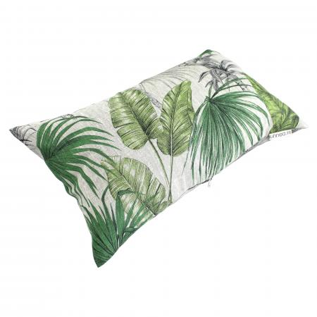 housse de coussin 30x50 cm tatti jungle 100 lin. Black Bedroom Furniture Sets. Home Design Ideas