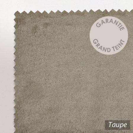 Lot de 2 serviettes invité 30x30 cm PURE Taupe 550 g/m2