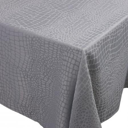 Nappe rectangle 150x200 cm Jacquard 100% polyester LOUNGE perle