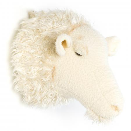 Peluche trophée Mouton Crème Harry collection Basse-cour
