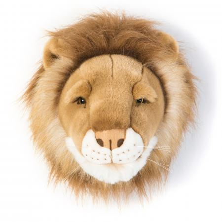 Peluche trophée Lion Petit Cesar collection Savane