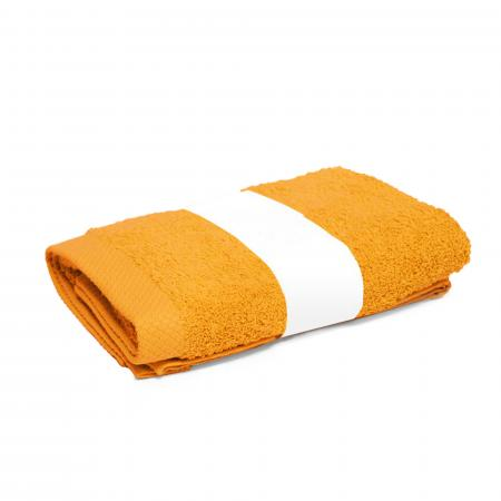 Serviette de toilette 50x100 cm PURE Or 550 g/m2