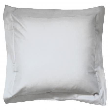 Linnea Taie doreiller uni 65x65 cm 100/% Coton Alto Blanc